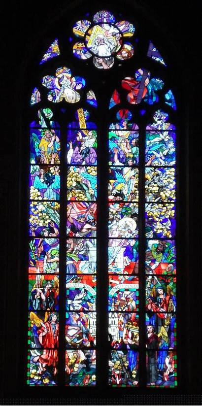 Church Window Stained Glass Clipart Ludmila Churches
