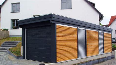 Fertiggaragen Aus Holz by Holz Garagen Carport In Holz Alu Stahl Carport Bausatz