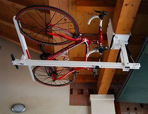 Flat Bike Lift : ceiling overhead bike rack for mountain bike trekking ~ Sanjose-hotels-ca.com Haus und Dekorationen