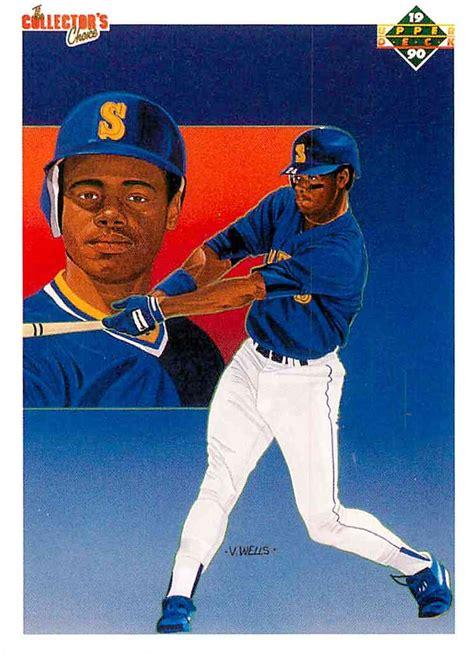 1990 deck ken griffey jr 555 1990 deck the collector s choice ken griffey jr