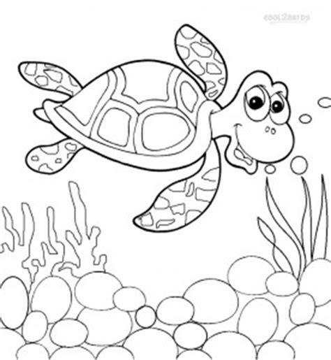 printable sea turtle coloring pages  kids coolbkids