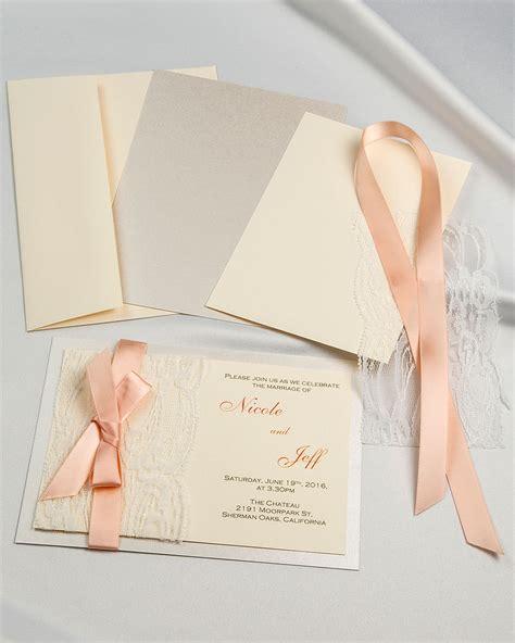 cheap wedding invitation do it yourself wedding invitations the guide
