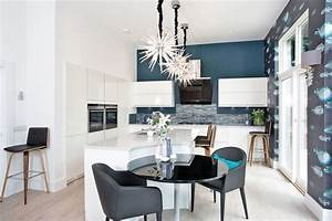 50 best modern kitchen design ideas for 2018 for Kitchen colors with white cabinets with papier carte grise