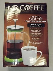 Coffee at the amazon coffee, tea, & espresso store. Mr. Coffee Daybreak Brew French Press Coffee Maker 34 oz ...