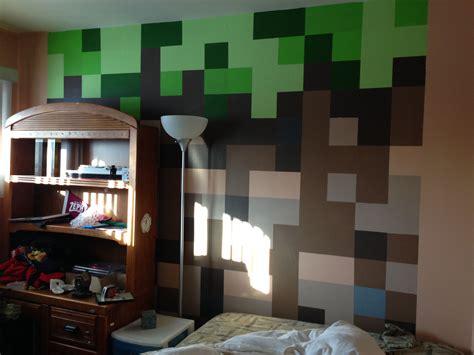 Minecraft Bedroom Pictures by Minecraft Bedroom Dirt Block Wall Minecraft Bedroom