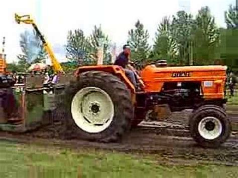 fiat  tractor pulling youtube