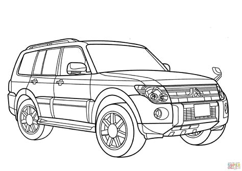 Fiat Panda Kleurplaat by 9 Suv Drawing Car Coloring Page For Free On Ayoqq Org