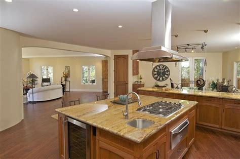 kitchen centre island touches of montclair contemporary will awe and inspire prospective buyers stove sinks