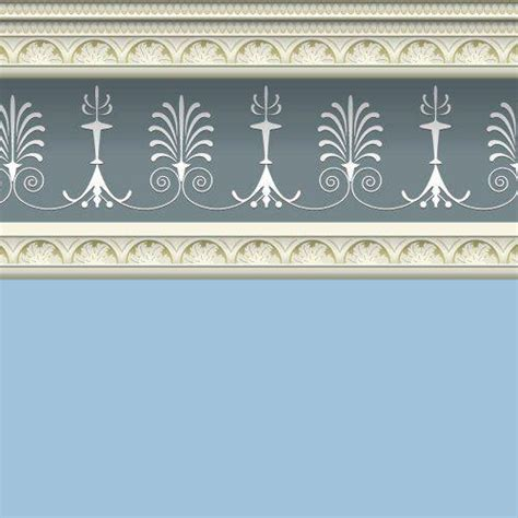 dolls house emporium georgian blue wallpaper