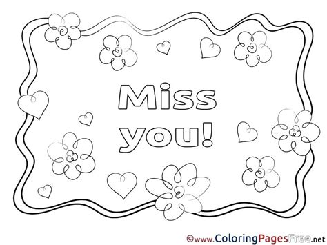 Missing You Doodle coloring page | Free Printable Coloring Pages ... | 355x474