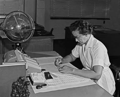 katherine johnson nasa mathematician  subject