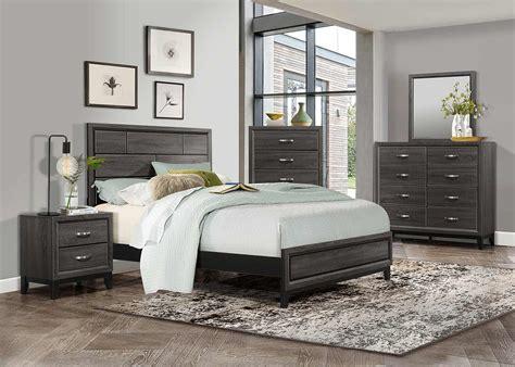 Homelegance Bedroom Set homelegance davi bedroom set gray 1645 bedroom set at