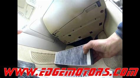 Audi Cabin Air Pollen Filter Replaement Diy