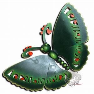 Papillon Décoration Murale : grand papillon d coratif en m tal artisanat mexicaine ~ Teatrodelosmanantiales.com Idées de Décoration