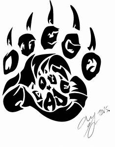 Tribal paw by Panda-child on DeviantArt