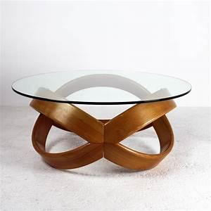 Table Basse Bois Et Verre : table basse verre et bois ovale table basse chocolat maison boncolac ~ Teatrodelosmanantiales.com Idées de Décoration