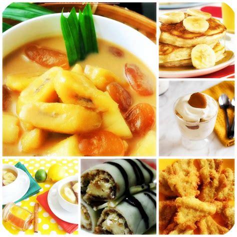Ada juga pilihan resep berdasarkan jenis bahan baku. 6 Resep Makanan Berbahan Dasar Pisang Untuk Menambah Menu Buka Puasa - Rezep Kita