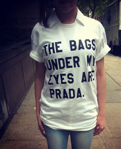 the bags my are designer shirt the bags my are prada designer unisex tshirt by