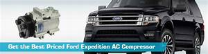 Ford Expedition Ac Compressor - Air Conditioning - Uac Gpd Denso Four Seasons