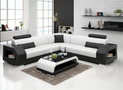 popular modern furniture sofa leather custom sofa set