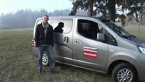 Nissan Nv200 Evalia : nissan nv200 evalia weekend magazin autotest youtube ~ Mglfilm.com Idées de Décoration