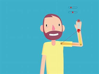 Waving Duik Animation Bassel Character Animated Dribbble