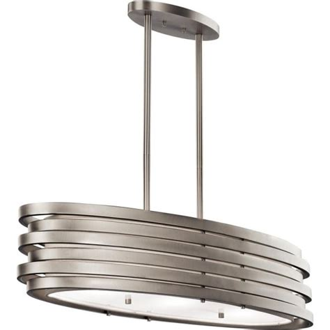 kitchen island and table lighting modern oval kitchen island pendant or over dining table light