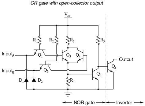 ttl    gates logic gates electronics textbook