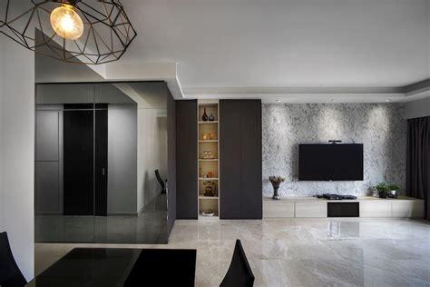 Grey Living Room Hdb by Home Interior Design In Singapore For Verandah Matilda