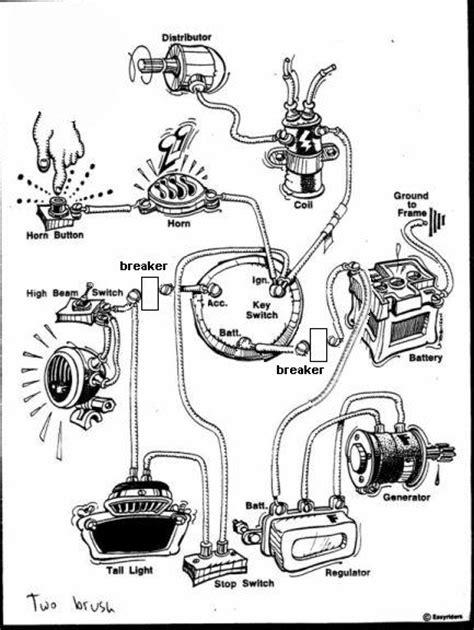 Pan Wiring Schematic Harley Davidson Forums