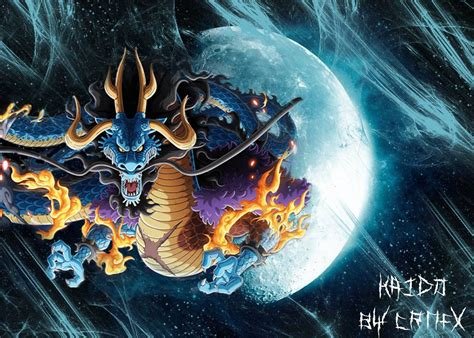 piece kaido dragon wallpaper  crnfx  deviantart