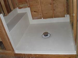 fiberglass shower base ideas crustpizza decor best With replacing shower floor pan