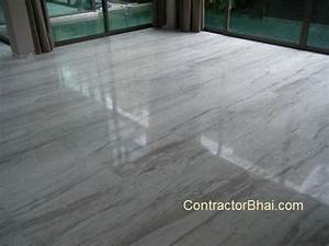 Marble flooring contractorbhai for Rates of marbles for flooring