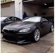 BMW F13 M6 Matte Black  Bmw Cars M4
