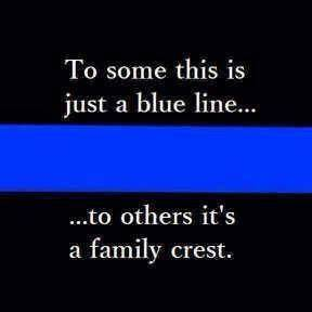Blue Line Famil... Police Lives Quotes