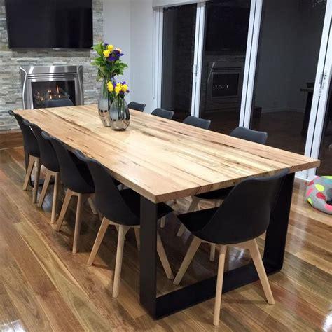 oak and steel dining table 25 best ideas about oak dining table on pinterest oak