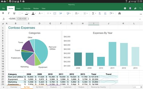microsoft excel  android file extensions