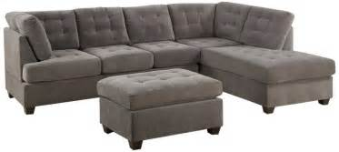 discount sofa 3 discount gray microfiber sectional sofa set with consumer reviews home best furniture