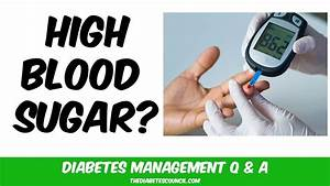 How Do I Quickly Bring Down My Blood Glucose  Lower High