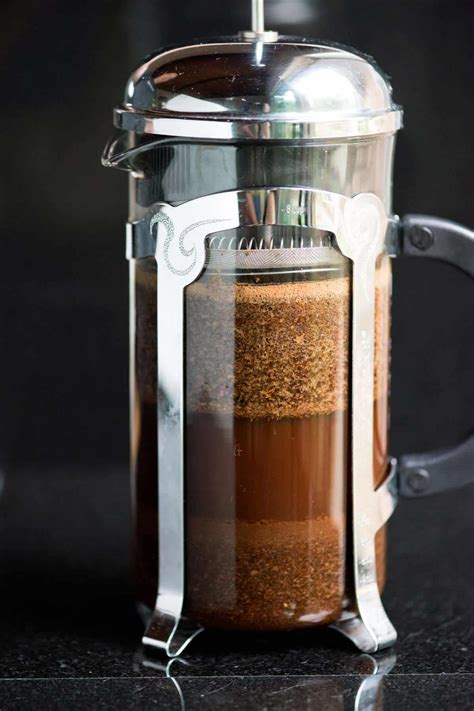 cold brew coffee press french homemade recipe easy steps making concentrate maker inspiredtaste morning recipes down ocantodabalea