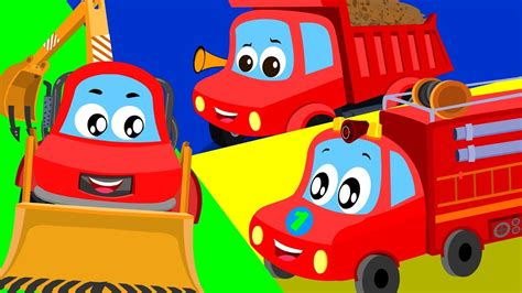 truck song  red car shows  toddlers cartoon