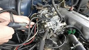 22r How To Adjust Aisin Carburetor  Throttle  U0026 Fuel Adjustment Locations