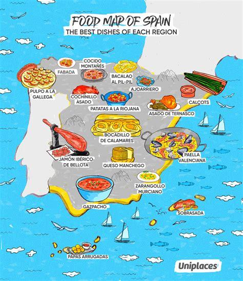 cuisine par region infographic regional food maps of europe eat your