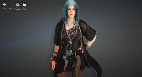 bdo sorcerer template aqua marine bdo black desert online character template