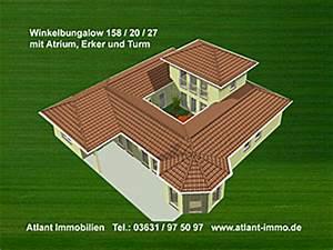 Bungalow 200 Qm : atrium hauptseite bungalow winkelbungalow einfamilienhaus innengarten neubau massivbau stein auf ~ Markanthonyermac.com Haus und Dekorationen