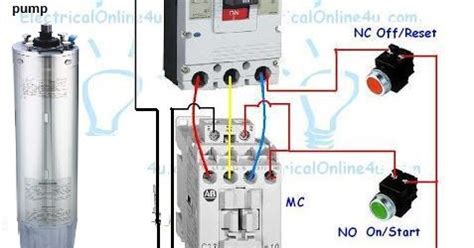 Wiring Diagram Of Submersible Pump Starter