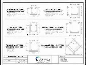 Custom Wine Cellars Wine Rack Opening Sizes - Wine Cellar