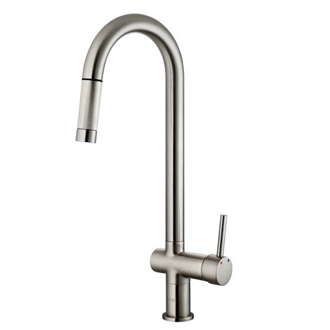 kitchens faucet vigo gramercy single handle pull kitchen faucet