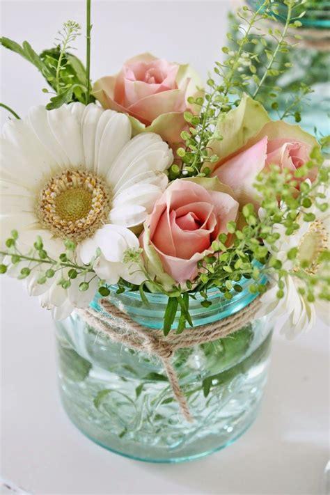 flowers in jars mason jar flower arrangement vibeke design we have beautiful arrangements like these on