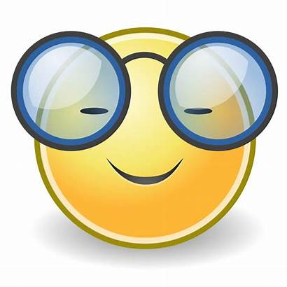 Glasses Face Svg Wikipedia Pixels Clip Smiley